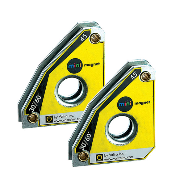 Stronghand tools - MS346AT (twin pack) MINI SQUARE MAGNET 30,45,60,90° /10kg/59x50x16 mm